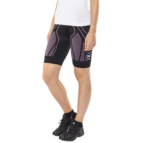 X-Bionic W's The Trick Running Pants Short Black/Pink